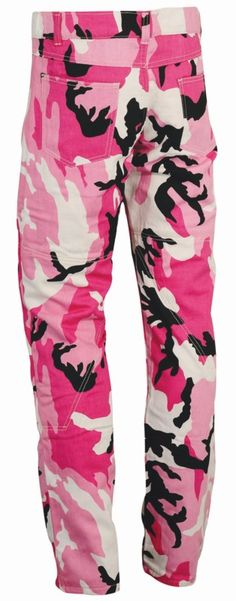 Pink Camouflage Pants for Women   Womens Pink Camo