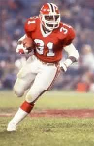 William Andrews gained over yards rushing in a season four times . Falcons Football, Football Fans, Football Helmets, Football Players, Falcons Rise Up, Best Running Backs, Johnny Unitas, Nfl Uniforms, Ski Sport