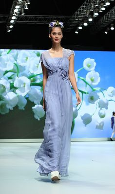 IMG_7669-votum Indonesia Fashion Week, Spring Blossom, One Shoulder, Formal Dresses, Dresses For Formal, Formal Gowns, Formal Dress, Gowns, Formal Wear