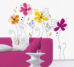 Fleurs Vinilos decorativos en AllPosters.es