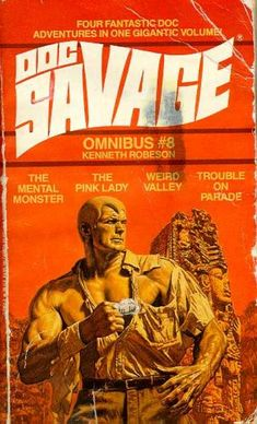 Doc Savage Book Covers #100-149