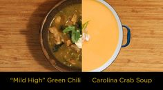 You�re a winner with these two soups reflecting the hometown tastes of the NFL�s top two teams.