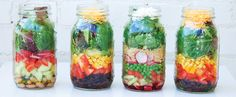 How to Pack a Perfect Mason Jar Salad