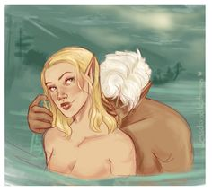 """faeriedustgirl: """"jessdoodlesthings: """" a certain scene in a certain book has given me life…. long live rowaelin. """" Jess your gonna KILL ME """" That's the plan"""