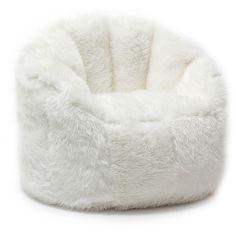 Comfort Research BeanSack Big Joe Milano Faux Fur Bean Bag Chair