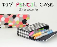 I was going through my pinterest feed and saw a pencil case picture from Mochi things.That caught my eye and I fell in love with those square pencil case. I had no...