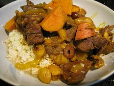 Moroccan-Inspired Lamb (Heart) Stew