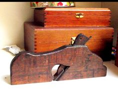 Antique Wood Plane Hand tool by Chandeluse on Etsy, $32.00