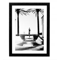 The Barbados print by Gaby Fling will bring a sense of cool sophistication to any space. The print features shiny black wooden frame and clear glass. Dimensions:Width 130 cm x Height 90 cm * In stock products are available for immediate di Wall Art Decor, Wall Art Prints, Canvas Prints, Contemporary Home Decor, Modern Wall Art, Barbados, Sweetpea And Willow, Selling Furniture, White Home Decor