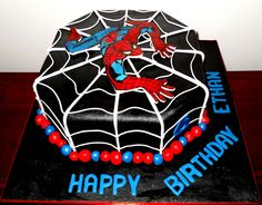 Spiderman Cakes Images Cake Ideals Pinterest Spiderman - 5th birthday cake boy