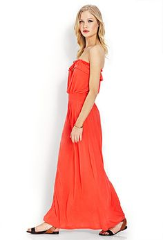 Flounce Maxi Dress | FOREVER21 - 2000071197
