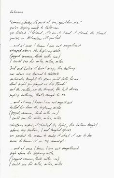 Lyrics to Holocene by Bon Iver- the most beautiful song , ever. Bon Iver, Music Love, Music Is Life, Good Music, Justin Vernon, Soundtrack To My Life, Beautiful Songs, Pretty Words, Music Lyrics