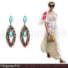 Pendientes Mery multicolor ★ 11'95 € ★ Cómpralos en https://www.conjuntados.com/es/pendientes-mery-con-cuentas-multicolor.html ★ #pendientes #earrings #conjuntados #conjuntada #joyitas #lowcost #jewelry #bisutería #bijoux #accesorios #complementos #moda #eventos #bodas #invitadaperfecta #perfectguest #fashion #fashionadicct #fashionblogger #blogger #picoftheday #outfit #estilo #style #streetstyle #spain #GustosParaTodas #ParaTodosLosGustos