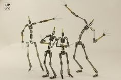 Stop Motion Armatures: 12″ & 11″ Armatures on Sale Now