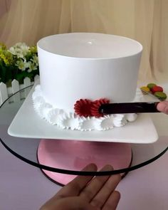 Cake Decorating Frosting, Cake Decorating Designs, Cake Decorating For Beginners, Creative Cake Decorating, Cake Decorating Techniques, Cake Decorating Tutorials, Creative Cakes, Cookie Decorating, Decoration Patisserie