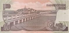 Wertseite: Geldschein-Asien-Nordkorea-원-10-1998