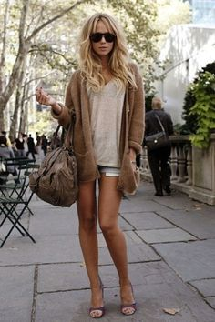 cozy sweater look!
