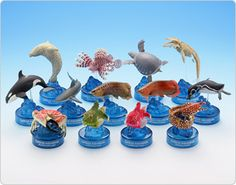 sea figures  カプセルミュージアムプロジェクト|株式会社 海洋堂