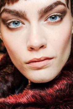 The ungroomed brow owned the runway this season. Are you willing to ditch the tweezers?