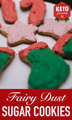 How says Santa can't have cookies? These treats are keto apprüved and sure to put a smile on the big man's face!