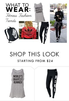 """What To Wear: Fitness Fashion Trends"" by fitandfabliving on Polyvore featuring NIKE, women's clothing, women's fashion, women, female, woman, misses and juniors"