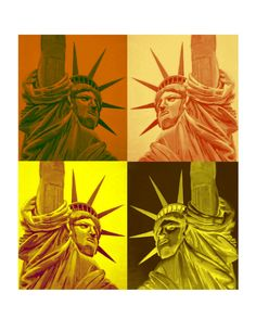 NEW YORK According to Andy Warhol Statue of by ArtCalifornia
