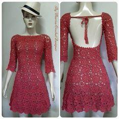 Crochet Dress, Black and white dress .Off White dress Crochet dress , Cloting crochet dresses ,fashion dress. Cute Crochet, Beautiful Crochet, Crochet Lace, Off White Dresses, Simple Dresses, Crochet Wedding, Crochet Fashion, Crochet Clothes, Knit Dress