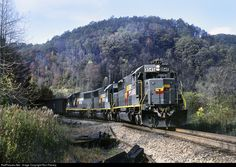 RailPictures.Net Photo: SBD 8545 Seaboard System EMD SD50 at Dryden, Virginia by Ron Flanary