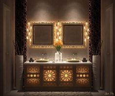 Badezimmer marokkanisch ~ Original tipps für einen zeitgenössische badezimmer