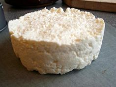 "Easy Cheese (a soft Farmer's-type ""cheese"") - This recipe is in categories Normans / Medieval, Healthy"