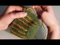 Uncinetto Fashion: Le piantine grasse - PUNTO FESTONE per decorare il CACTUS parte III - YouTube