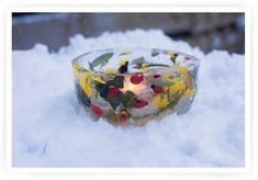 Kiind: Creatief met ijs op bevroren dagen
