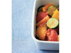 累計230万部突破! 『やせおか』シリーズの料理研究家・柳澤英子先生が、『美的』読者のために週末にカンタンに作れて、キレイになれて、たくさん食べても太らない、うれしすぎるレシピを教えてくれました! まずは野菜のレシピから。 ▶「かぶのソテー明太子ソース」 ▶「和風ピクルス」をこれまでに紹介しました。 旬の野菜は手頃で栄養価も豊富。率先して取り入れて! 歯応えを残した調理法だから、満腹感もアップ!