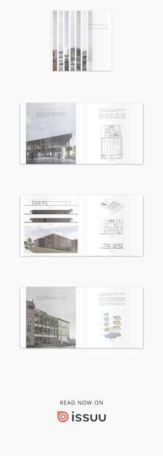 Ideas for design portfolio architecture layout Modelo Portfolio, Portfolio D'architecture, Portfolio Design Layouts, Mise En Page Portfolio, Portfolio Covers, Portfolio Examples, Indesign Portfolio, Portfolio Booklet, Graphic Portfolio