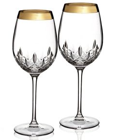 Sparkling crystal to take your dinner parties up a notch, Waterford Stemware