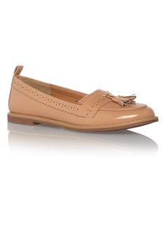 Womens Nude Detail Loafers   Tu clothing