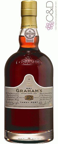 Folgen Sie diesem Link für mehr Details über den Wein: http://www.c-und-d.de/Portwein/Tawny-Port-40-Years-Graham-s-Port_74028.html?utm_source=74028&utm_medium=Link&utm_campaign=Pinterest&actid=453&refid=43 | #wine #redwine #wein #rotwein #portwein #spirituosen #74028