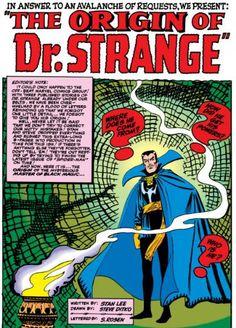"""E eis aqui uma versão mais """"atual"""" do personagem, em sua história de origem, na Strange Tales #115."""