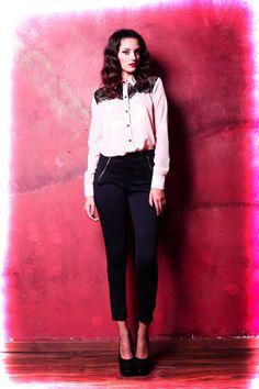 Camisa Isabella - Pantalon Zipper