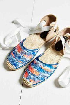 Soludos Static Espadrille Sandal  #blueroofind