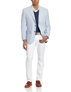 Jones New York Men's Two-Button Seersucker Blazer for only $199.99 You save: $75.01 (27%) + Free Shipping
