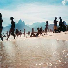 Praia no Rio.