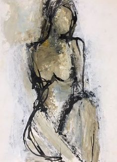 Holly Irwin fine art Source by TipsyTags Painting People, Figure Painting, Painting & Drawing, Figure Drawing, Art And Illustration, People Art, Figurative Art, Abstract Art, Abstract Charcoal Art