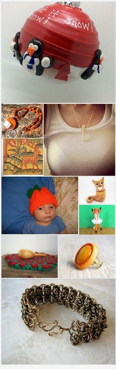 Fresh Orange by Nancy on Etsy
