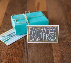 Printable Happy Father's Day Card. Make It Now with the Cricut Explore machine and Print then Cut feature in Cricut Design Space.