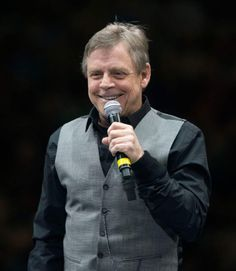 Mark Hamill talks to thousands of fans at the Vivint Smart Home Arena as he kicks off the 2016 Salt Lake Comic Con in Salt Lake City on Thursday, Sept. 1, 2016. (Steve Griffin | The Salt Lake Tribune)