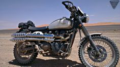 Scram Africa || 2000km through Morocco and parts of the Sahara || Heavily modified Triumph Scrambler