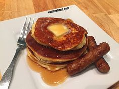 Cut the Wheat: The Best Low Carb Pancakes (Gluten Free)