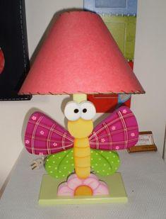 Art Decorativo: LAMPARA MARIPOSA