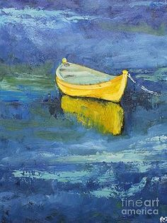 Print Boat 18 inch print of oil painting by Roz Description **Please note this is a signed art print. It is a reproduction of a past original oil painting of mine. Boat Painting, Painting & Drawing, Watercolor Paintings, Watercolors, Pinterest Pinturas, Gravure Photo, Boat Art, Paintings I Love, Painting Inspiration